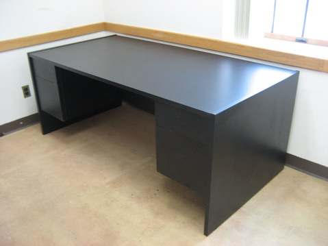 Contemporary Office Desks Item Imtl384 Black Office